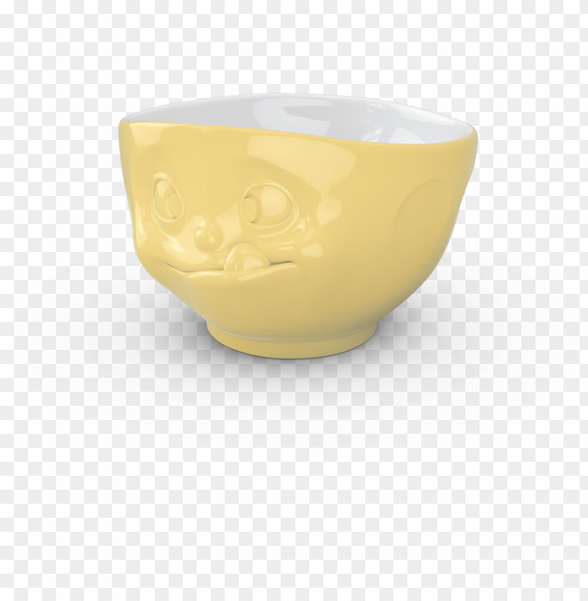 free PNG yellow tasty face bowl - bowl PNG image with transparent background PNG images transparent
