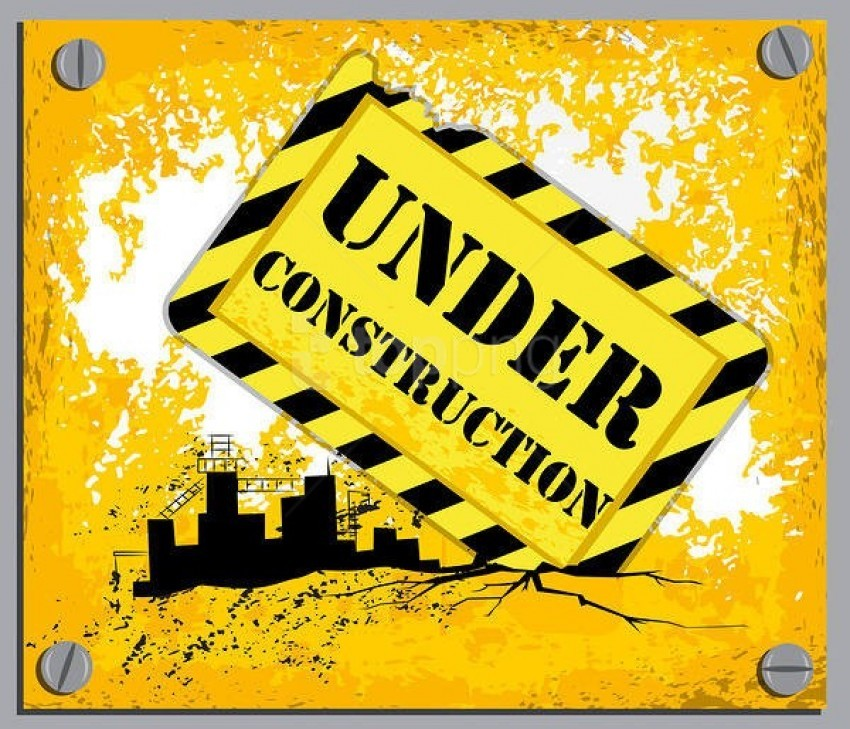 yellow under construction background best stock photos@toppng.com