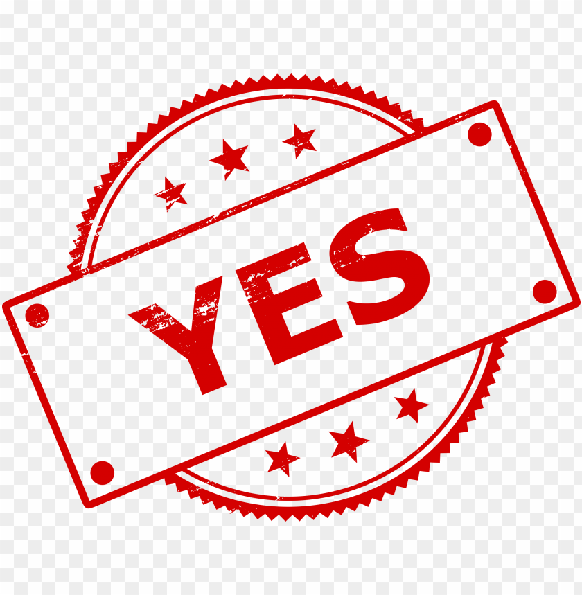 free PNG yes stamp png - Free PNG Images PNG images transparent