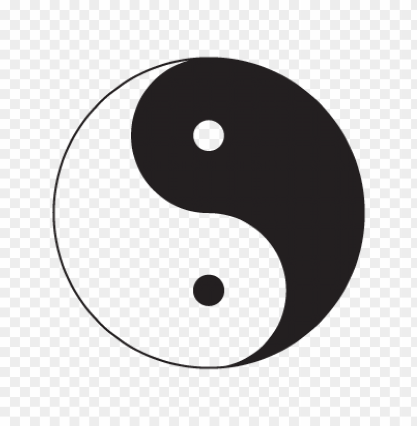 yin & yang logo vector free download@toppng.com