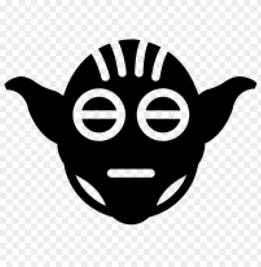 free PNG Download yoda png black and white s clipart png photo   PNG images transparent