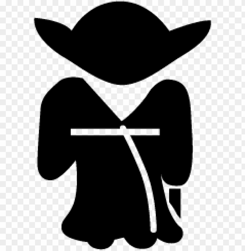 free PNG Download yoda silhouette clipart png photo   PNG images transparent