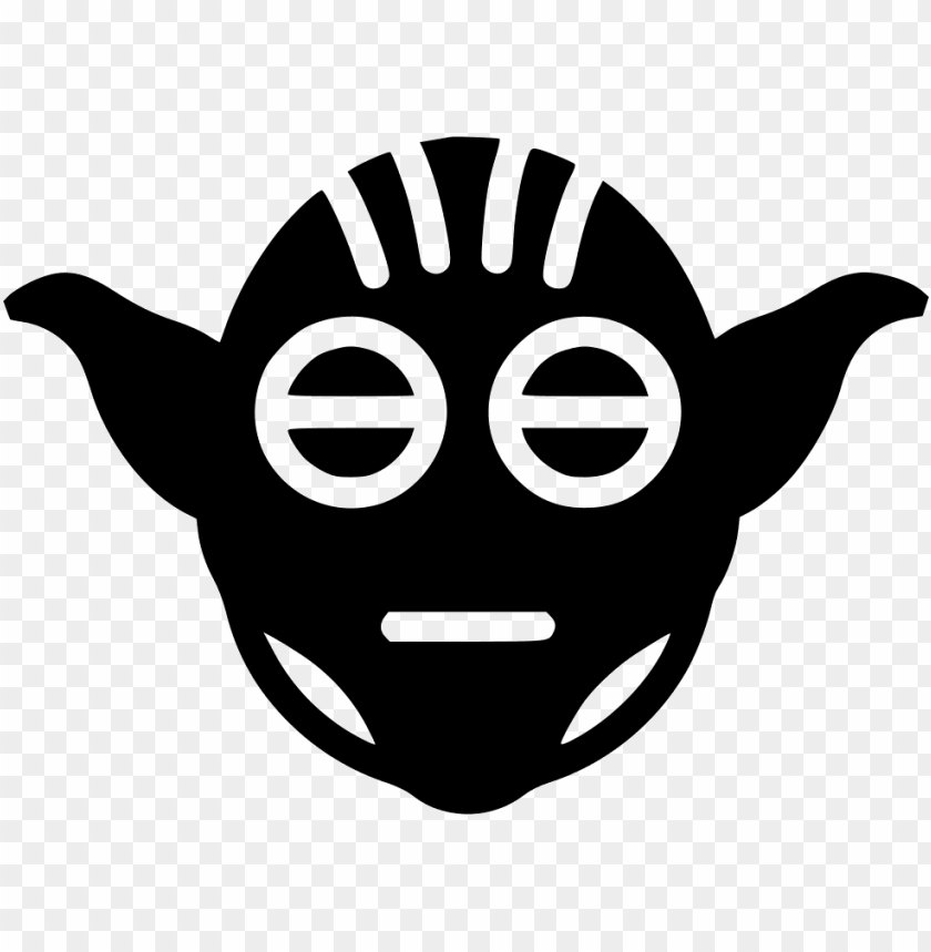Yoda Svg Icon Free Yoda Psd Icon Png Free Png Images Toppng