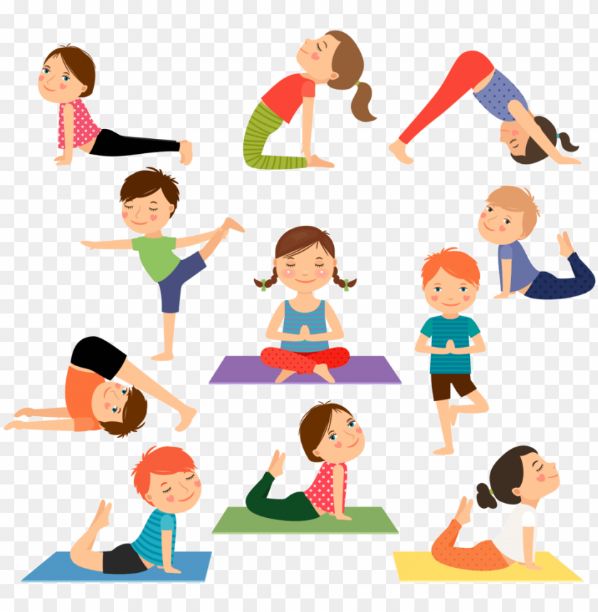 Yoga For Kidz Yoga Kids Png Image With Transparent Background Toppng