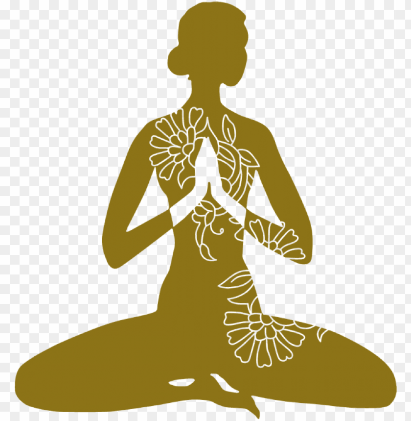 Yoga Silhouette Png Siluetas De Yoga Png Image With Transparent Background Toppng