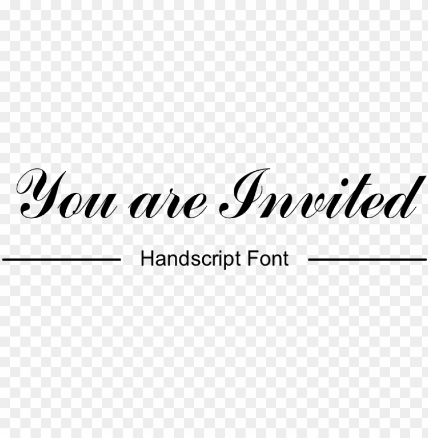 You Are Invited Png Image With Transparent Background Toppng
