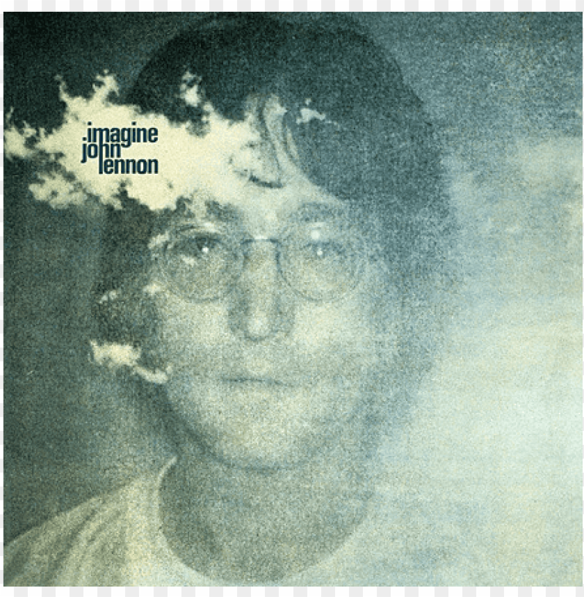 You May Say I M A Dreamer John Lennon Imagine Album Cover Png Image With Transparent Background Toppng