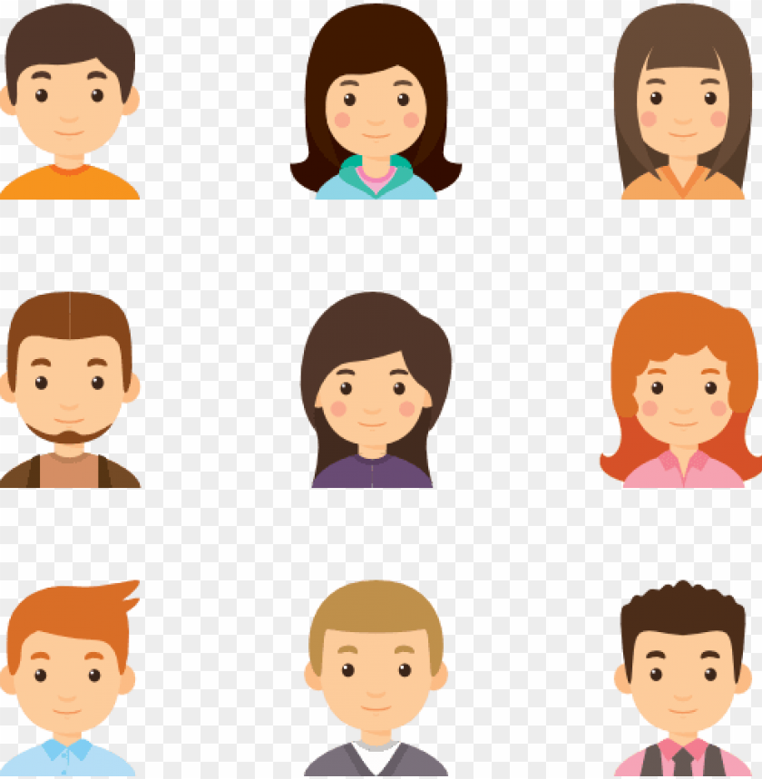 free PNG young avatar collection - avatar icon png - Free PNG Images PNG images transparent