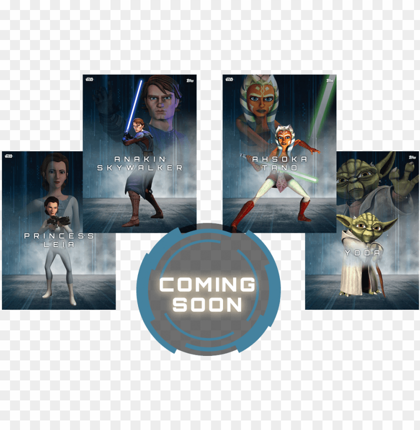 free PNG your favorite star wars characters are ready for action - star wars, the clone wars: official episode guide series PNG image with transparent background PNG images transparent