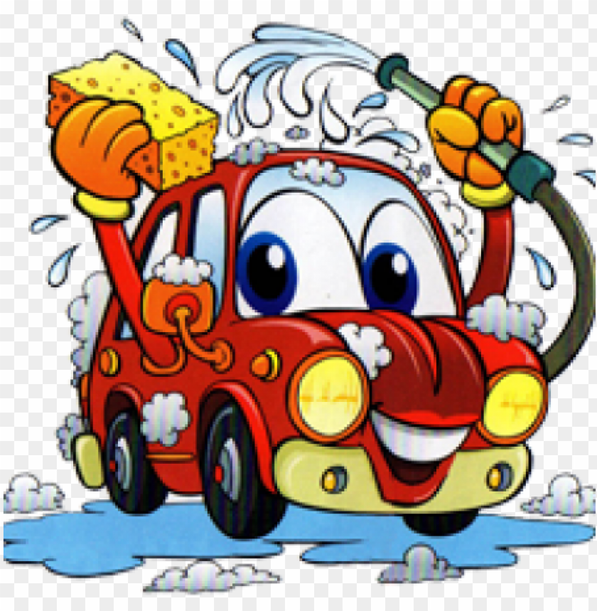 Youth Group Car Wash Fundraiser Car Wash Cartoon Png Image With Transparent Background Toppng