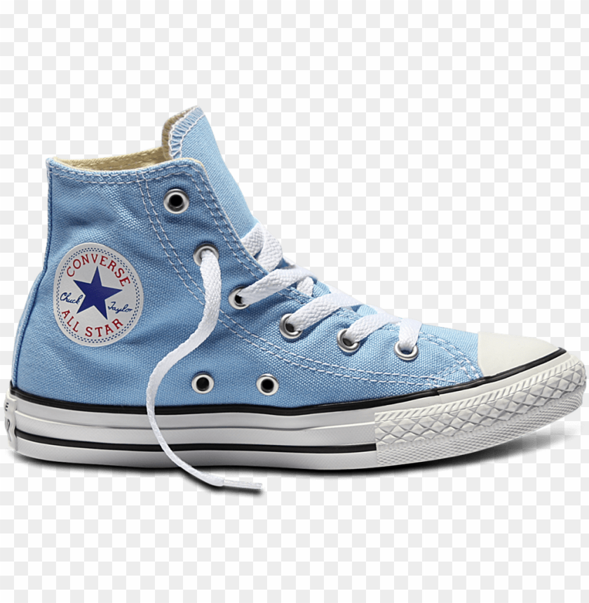 Youths Chuck Taylor Seasonal Converse All Star Sky Blue Png Image With Transparent Background Toppng