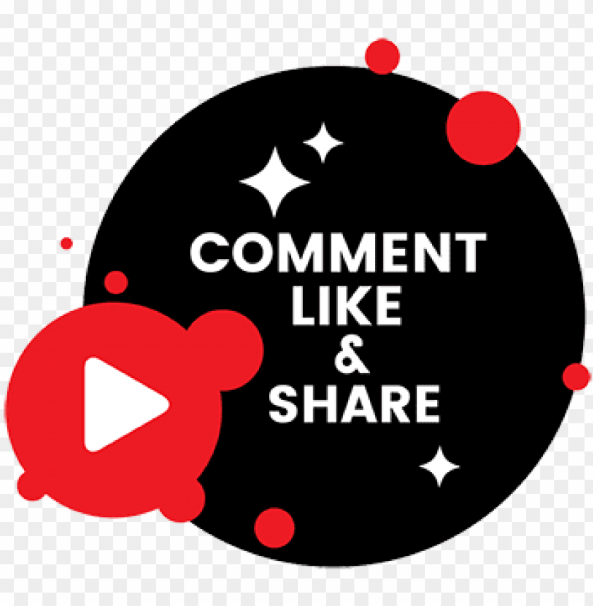 free PNG youtube comment png - like and share png youtube PNG image with transparent background PNG images transparent