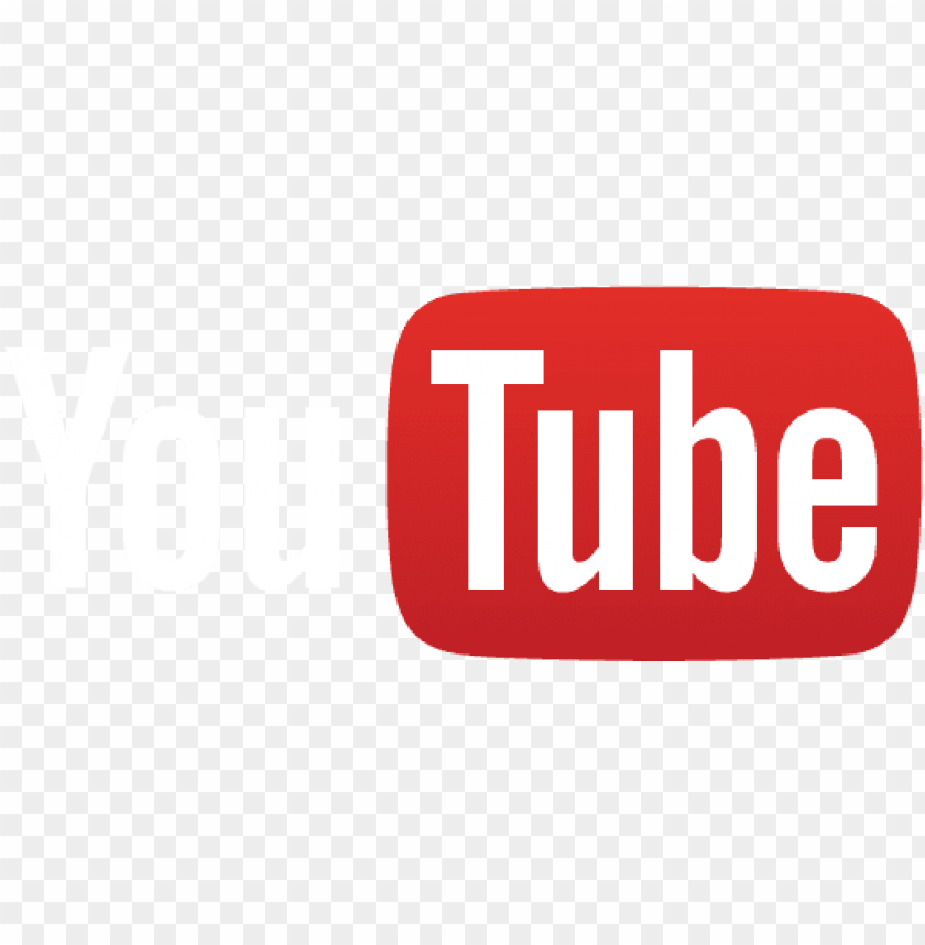 free PNG youtube logo white red PNG image with transparent background PNG images transparent