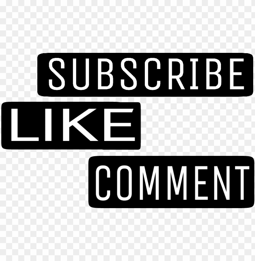 free PNG youtube subscribelikecomment subscribe like comment - youtube PNG image with transparent background PNG images transparent