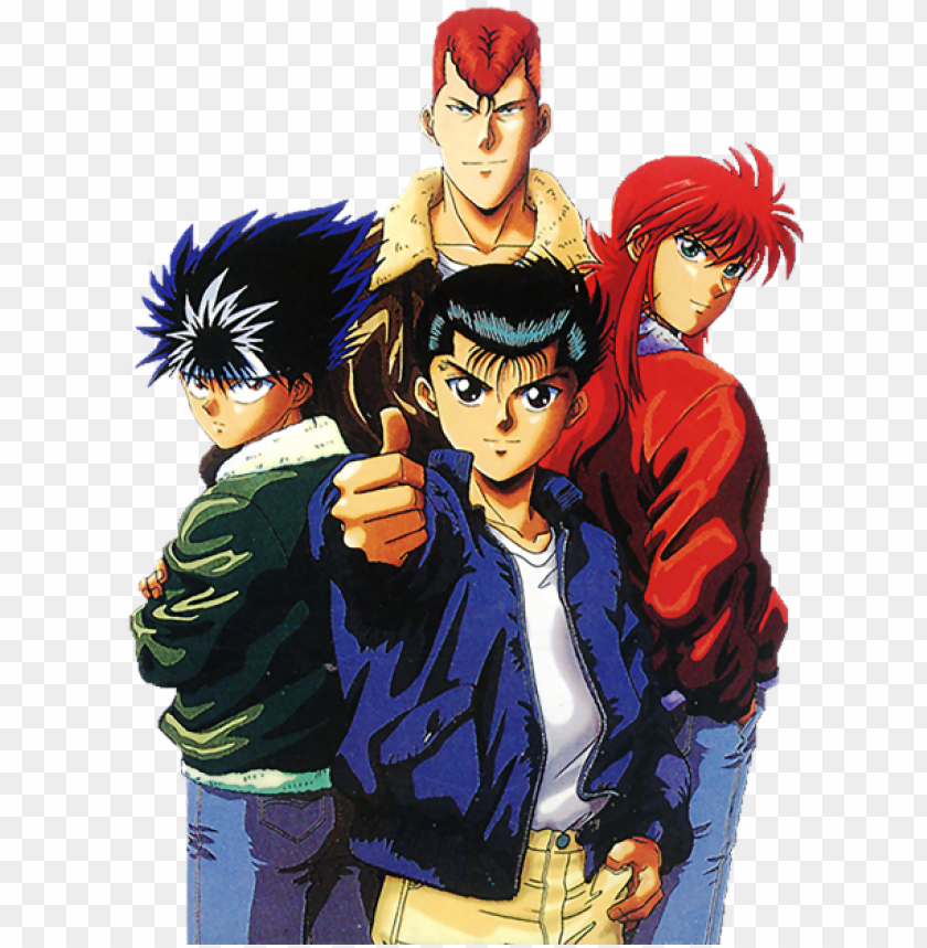- Yu Yu Hakusho Color Page - Yu Yu Hakusho PNG Image With Transparent  Background TOPpng