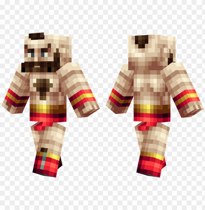 free PNG zangief - zangief skin minecraft PNG image with transparent background PNG images transparent