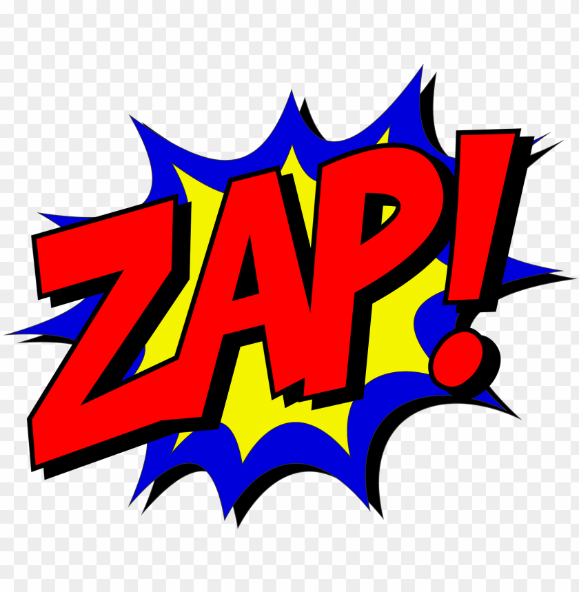 free PNG zap comic comic book fight explosion exple - zap comic PNG image with transparent background PNG images transparent