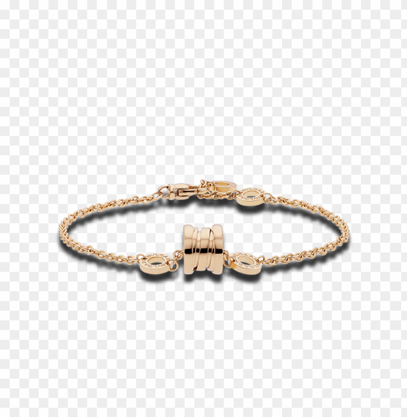 free PNG zero1 soft bracelet in 18 kt pink gold - bvlgari b zero1 手鍊 PNG image with transparent background PNG images transparent
