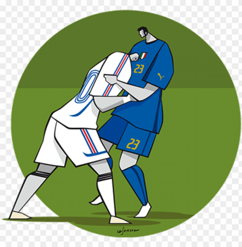 free PNG zidane - materazzi - football PNG image with transparent background PNG images transparent