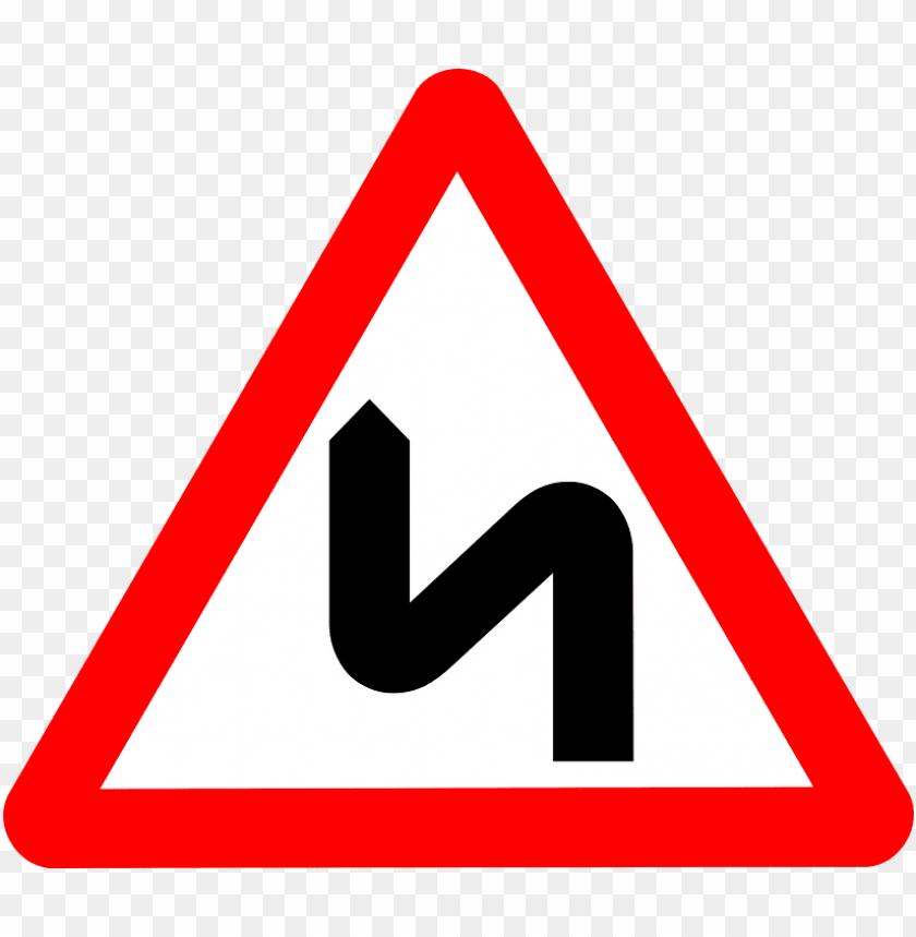 free PNG Download zigzag road warning road sign png images background PNG images transparent