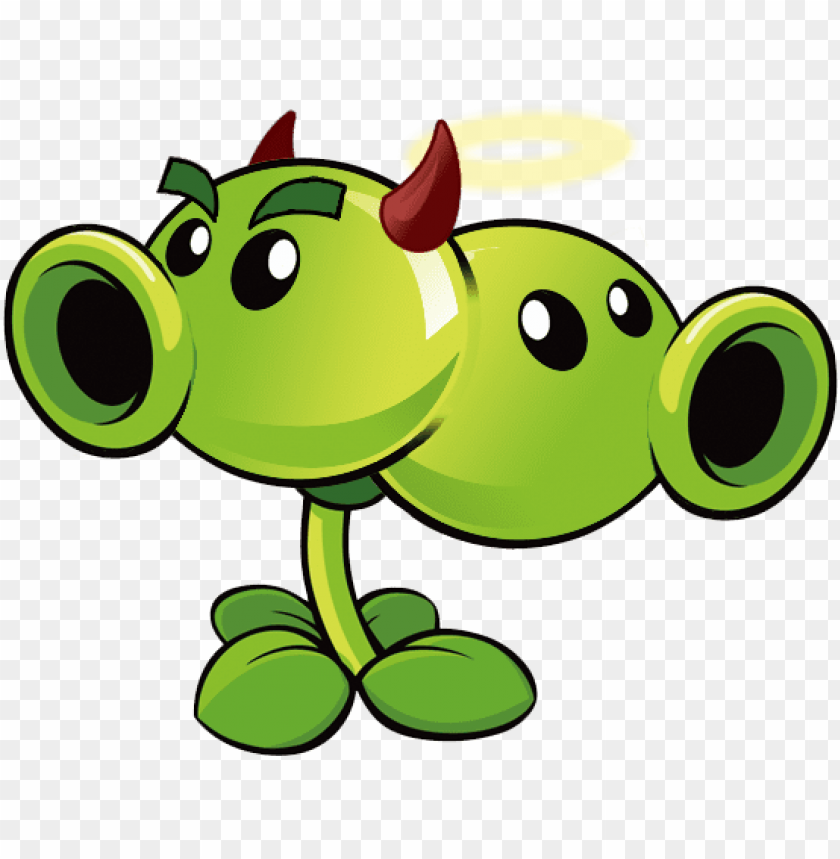 Zombies Plants Vs Zombies 2 Peashooter Costume Png Image With Transparent Background Toppng