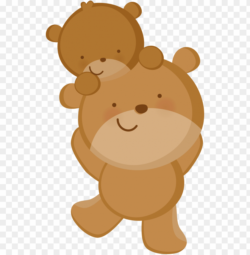 Zwd Babylove Bears Png Desenho Mae E Filhote Png Image With