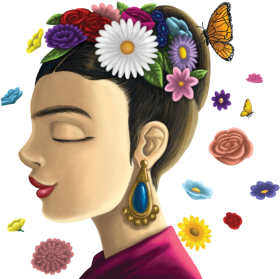 report abuse - frida kahlo PNG image with transparent ...