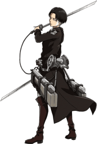 levi ackerman - attack on titan levi PNG image with ...